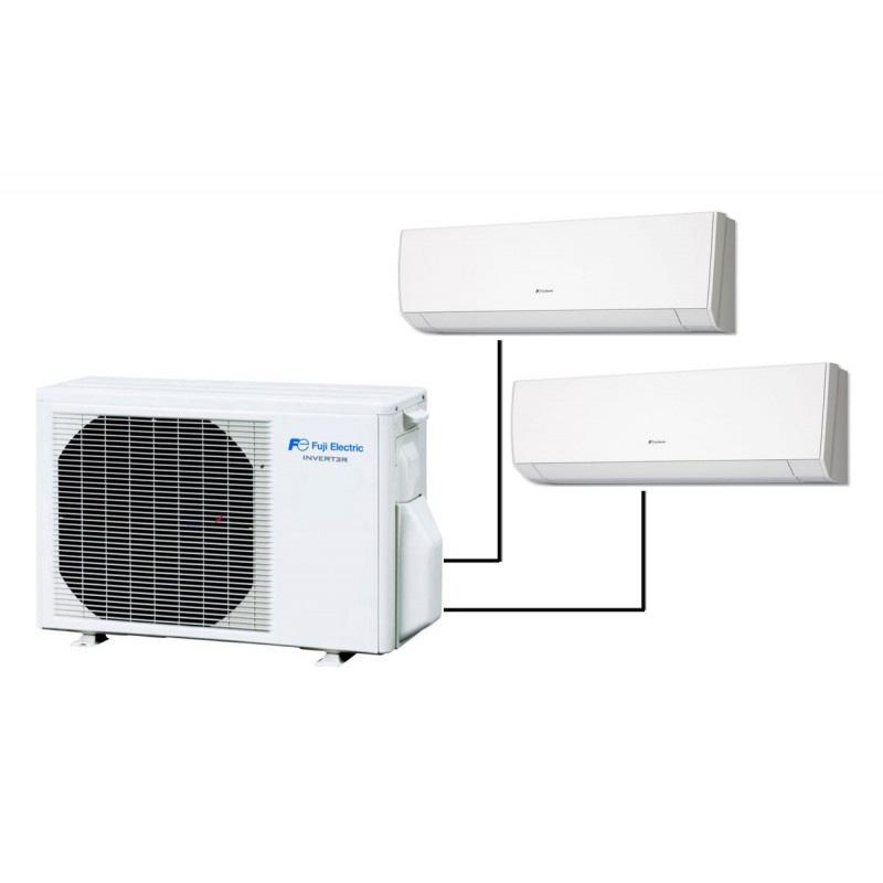 Мулти-сплит климатични системи за 2 стаи Fuji Electric ROG18LAC2